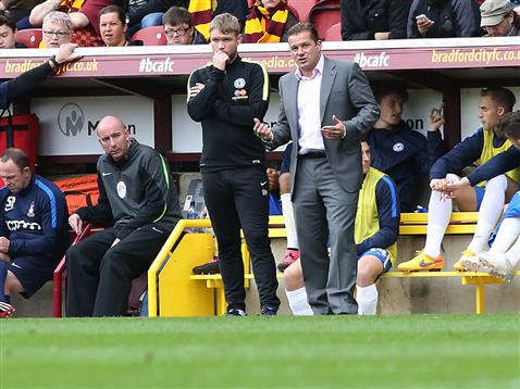 Graham Westley and Grant McCann v Bradford
