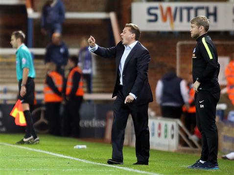 Graham Westley and Grant McCann v Bury