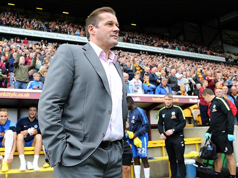 Graham Westley at  Bradford