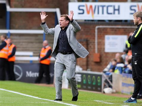 Graham Westley v Millwall