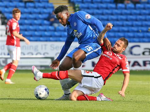 Jermaine Anderson v Walsall
