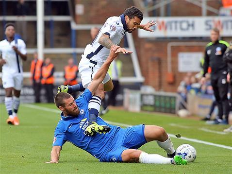 Michael Bostwick v Millwall