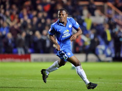 Souleymane Coulibaly celebrates his goal a minute after coming on v Wigan