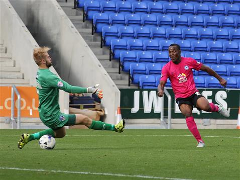 Souleymane Coulibaly scores against Oldham