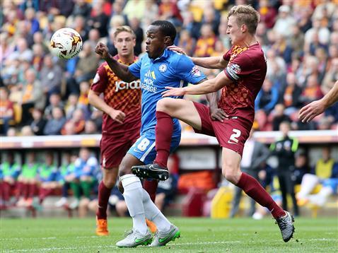 Souleymane Coulibaly v Bradford 2