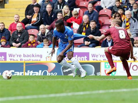 Souleymane Coulibaly v Bradford
