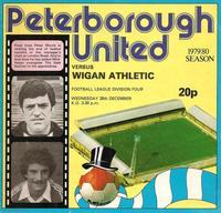 1979-12-26 - Posh v Wigan programme