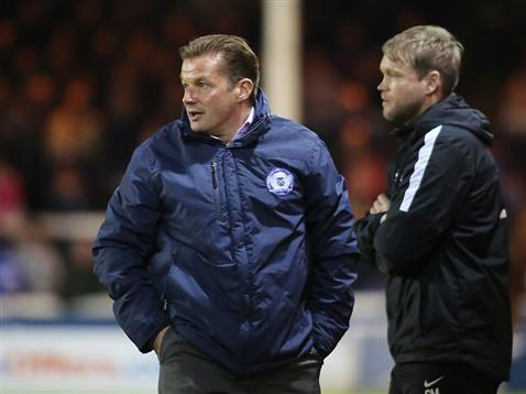 Graham Westley and Grant McCann v Barnsley