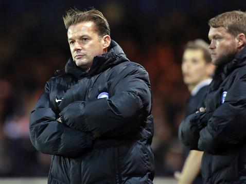 Graham Westley and Grant McCann v Shrewsbury