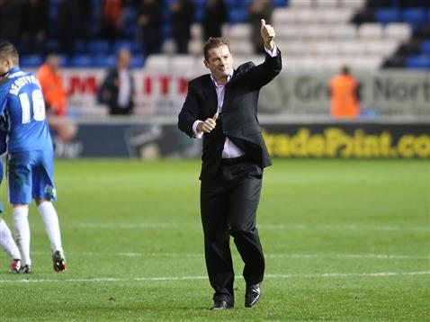 Graham Westley thumbs up
