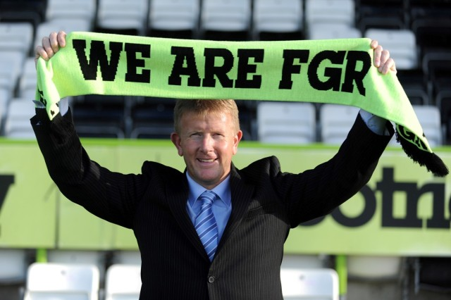 New Forest Green manager Adrian Pennock