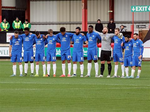Posh during minute silence for Paris
