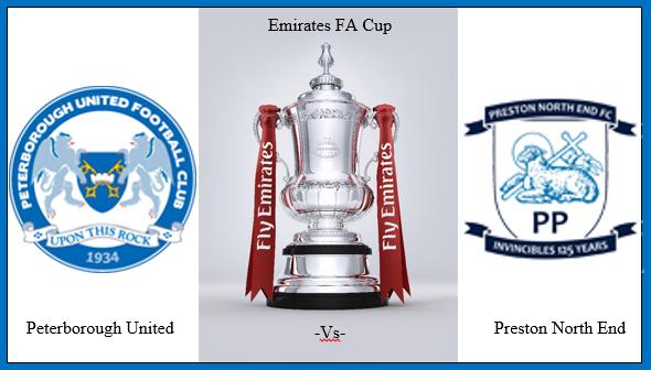 Posh v Preston - Emirates FA Cup