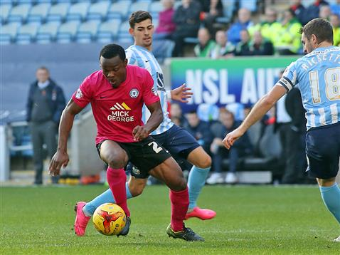 Souleymane Coulibaly v Coventry