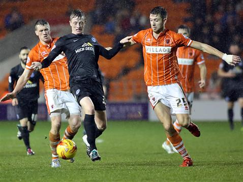 Chris Forrester v Blackpool