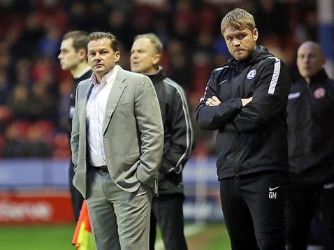 Graham Westley and Grant McCann v Walsall