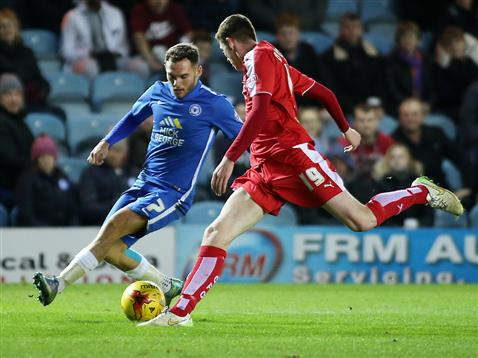 Jon Taylor v Chesterfield