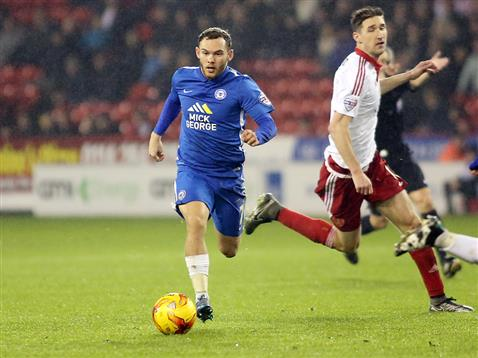 Jon Taylor v Sheffield United 2