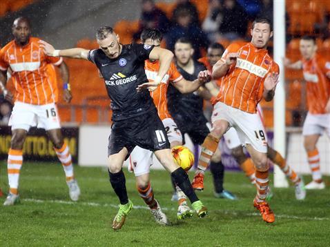 Marcus Maddison v Blackpool