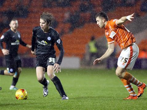 Martin Samuelsen had a quiet full debut v Blackpool