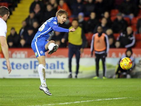Martin Samuelsen scores after a mazy run v Sheffield United