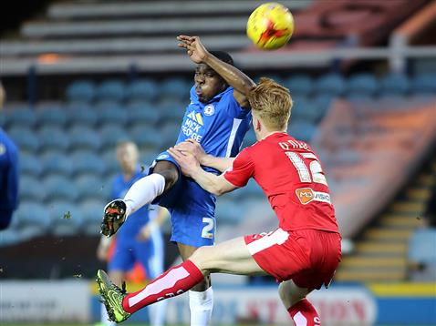 Souleymane Coulibaly v Chesterfield 2