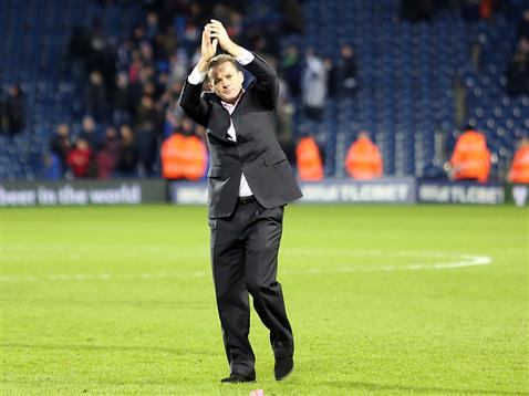 Graham Westley applauds the large Posh following after drawing at WBA