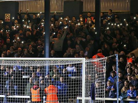 Mystery surrounds the lights v Preston