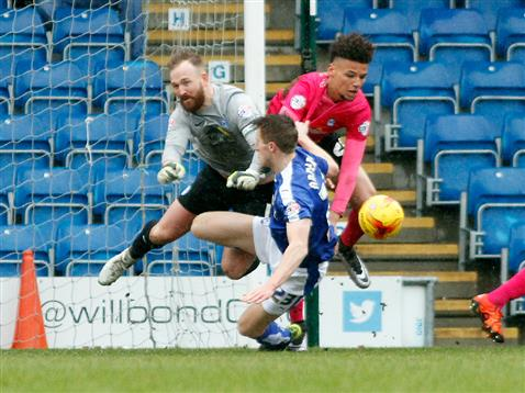 Ben Alnwick and Lee Angol v Chesterfield