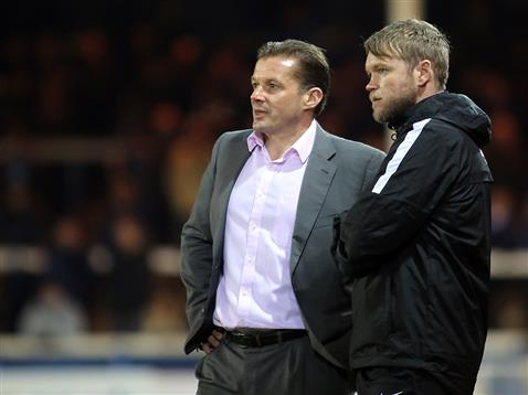 Graham Westley and Grant McCann v Oldham