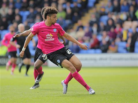 Lee Angol tucks away goal 2 v Shrewsbury