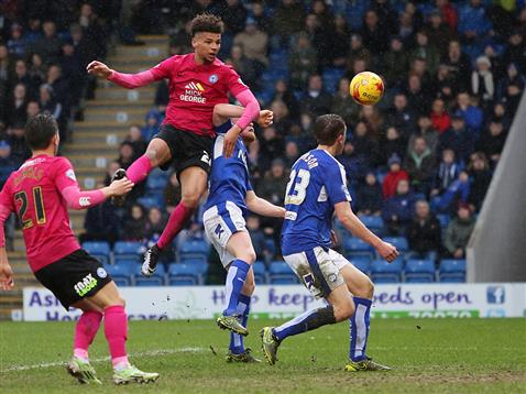 Lee Angol v Chesterfield