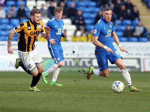 Marcus Maddison and Chris Forrester v Port Vale