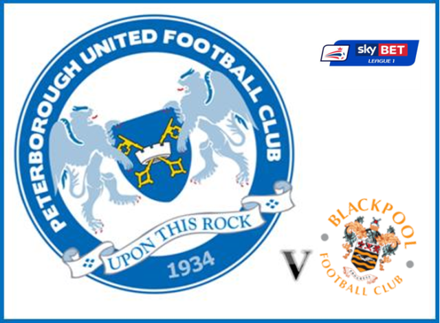 Posh v Blackpool - Sky Bet L1