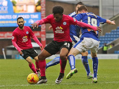 Shaq Coulthirst and Erhun Oztumer v Chesterfield