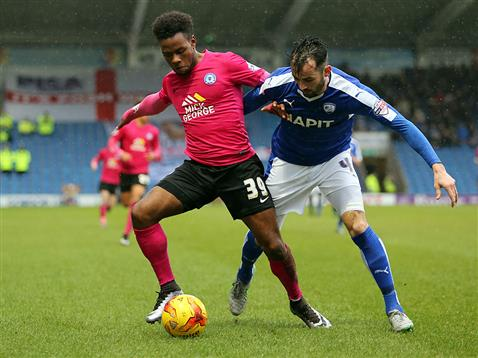 Shaq Coulthirst v Chesterfield