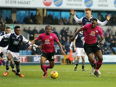 Souleymane Coulibaly and Ricardo Almeida Santos v Millwall