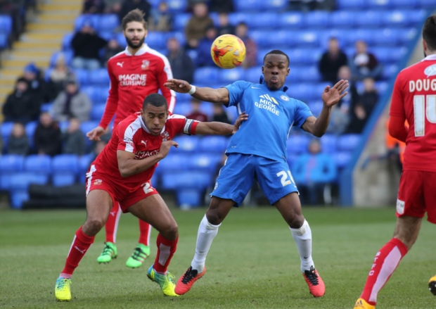 Souleymane Coulibaly has another poor game v Swindon