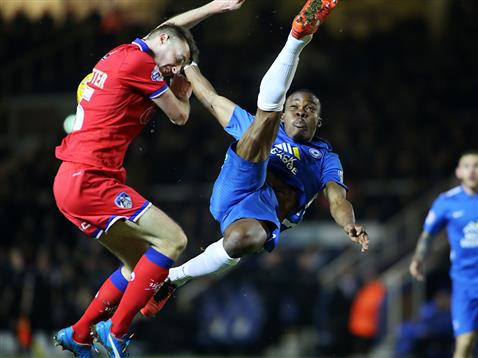 Souleymane Coulibaly overhead kick v Oldham