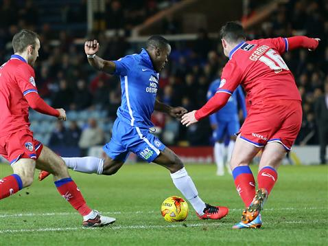 Souleymane Coulibaly v Oldham