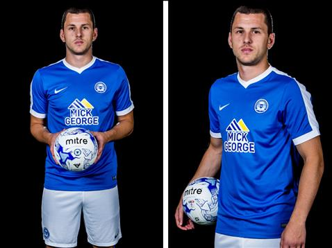 Aaron Williams home kit launch