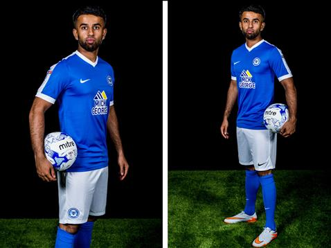 Adil Nabi home kit launch
