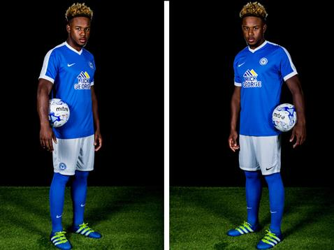 Jermaine Anderson home kit launch