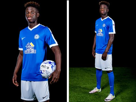 Leo Da Silva Lopes home kit launch