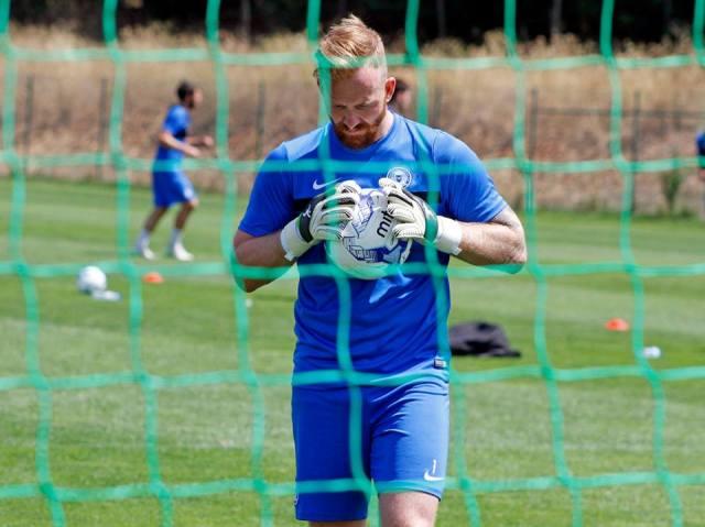 1 Ben Alnwick in pre-season