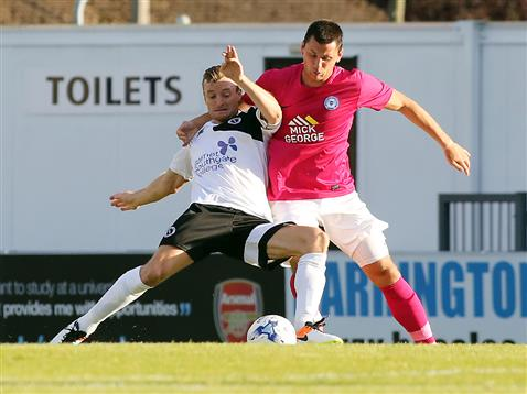 Aaron Williams v Boreham Wood