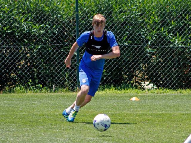 Chris Forrester in pre-season