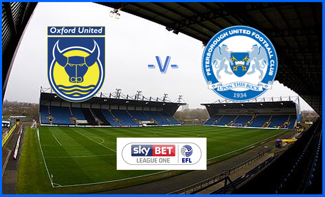 Oxford v Posh - Sky Bet EFL L1