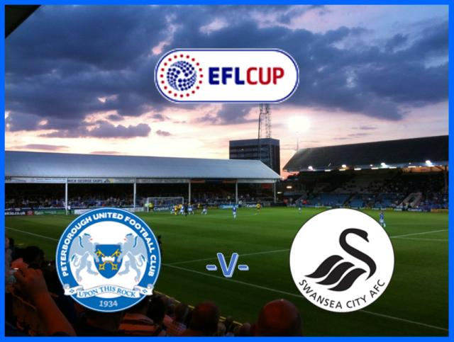 Posh v Swansea - EFL Cup
