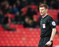 Referee Ollie Yates